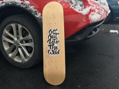 Skatedeck Lettering