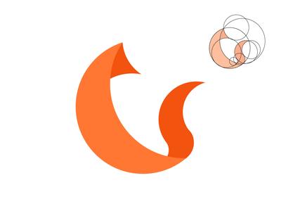 Fox Logo ilustración minimal colombia harris robert brand dailylogochallenge logo design branding illustrator