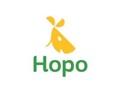 Hopo: Kangaroo Logo logotype colombia logotipo harris robert brand dailylogochallenge logo design branding illustrator