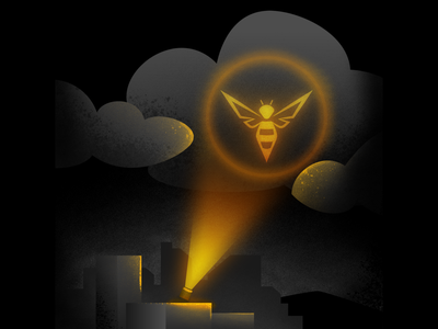 Ask for Help startup concept cloud texture batman colombia photoshop yellow city illustration illustrator company
