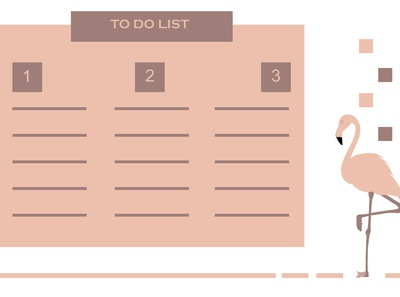 Flamingo to do list