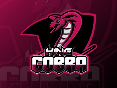 king cobra esport logo mascot design mascot logo logo design team logo esportlogo esport logo mascot squad mascot character logodesign king illustration graphic design gaming gamer cobra design branding