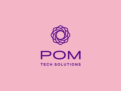 Killt symbol brand tech floral flower abstract color icon logomark logo design
