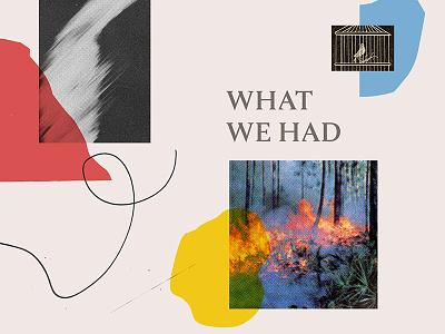 Broadwood Explorations #3 doodle photograph scraps collage cover design album cover design