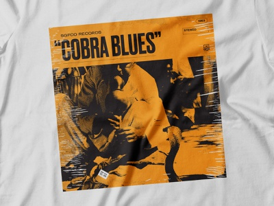 Cobra Scare 02 graphic t-shirt album art music apparel typography design