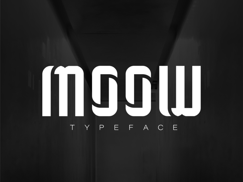 MOOW Typeface • Sports Concept typography typeface type sports soccer letter football font design
