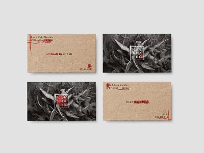 Mal Amado business cards logo illustraion design branding