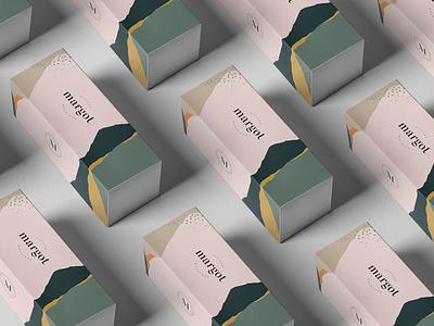 Margot pattern design packaging branding