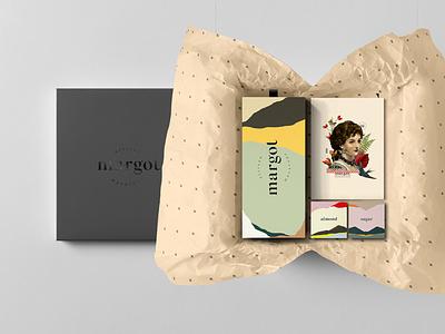Margot logotype porto design textures typography packaging illustration branding