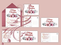 Christmas Holiday Invitation cards