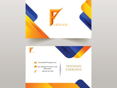 fardad company card visit business cards card mokeup design business card design business card logodesign logo business photoshop