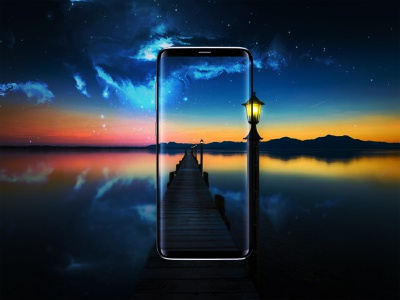 The reality in front of your eyes samsung galaxy mokeup phones photoshop