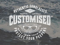 Logo for a sunglasses company based in Perth, Western Australia