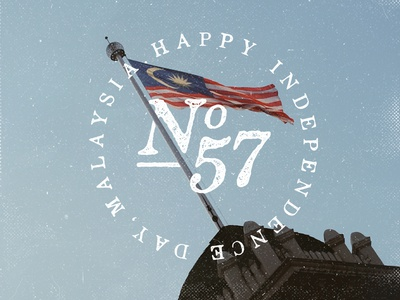 Happy 57th Independence Day, Malaysia!