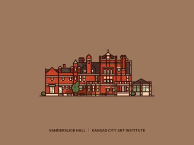 Vanderslice Hall art institute design architectural design architectural landmarks kansascity vanderslice hall