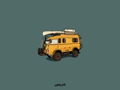Van Life Camper
