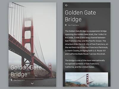 Travel Guide mobile travel concept app travel guide ui