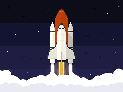 Rocket graphic rocket illustration ui