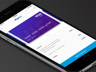 Daily UI 002 - Credit Card Checkout checkout paypal payment 100 002 ui