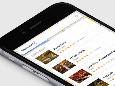 Daily UI 022 - Search restaurants app ui search daily ui