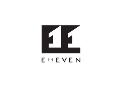 e11even letters vector logo eleven 11