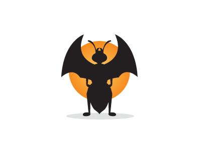 Ant ant logo vector batman