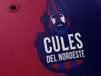 Cules Del Noroeste character vector cules logo barcelona soccer football