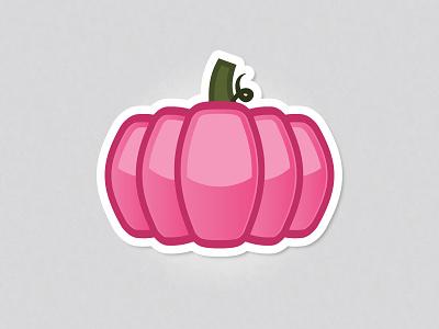 Hello pumpkin! stickermule halloween pumpkin dribbble rebound playoff