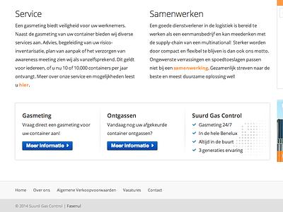 Footer banner web banner orange button netherlands layout minimal interface