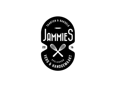 Jammies jammies rolling pin logo