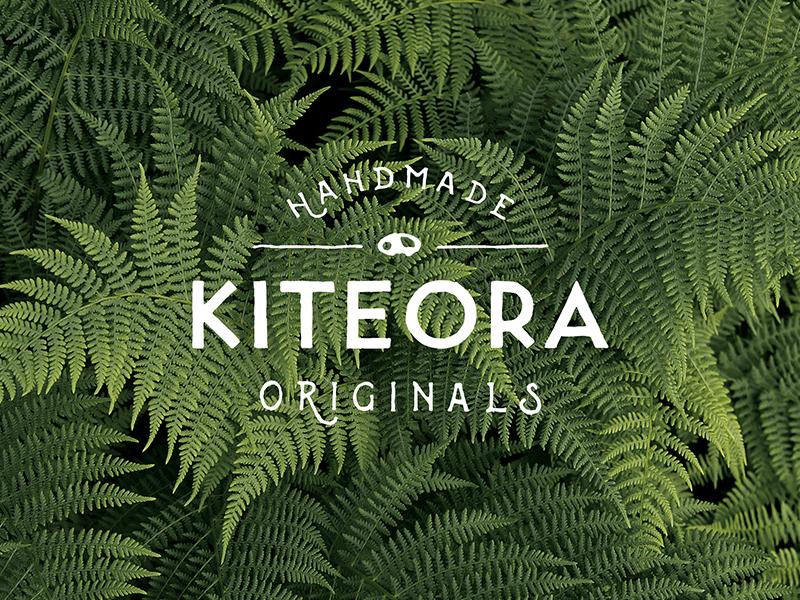 Kiteora identity branding logo