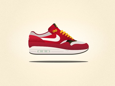 "Nike Air Max 1 ""Urawa"" Red Dragon"