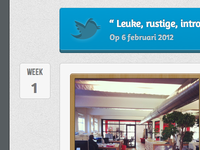 Twitter button and photo frame CSS3