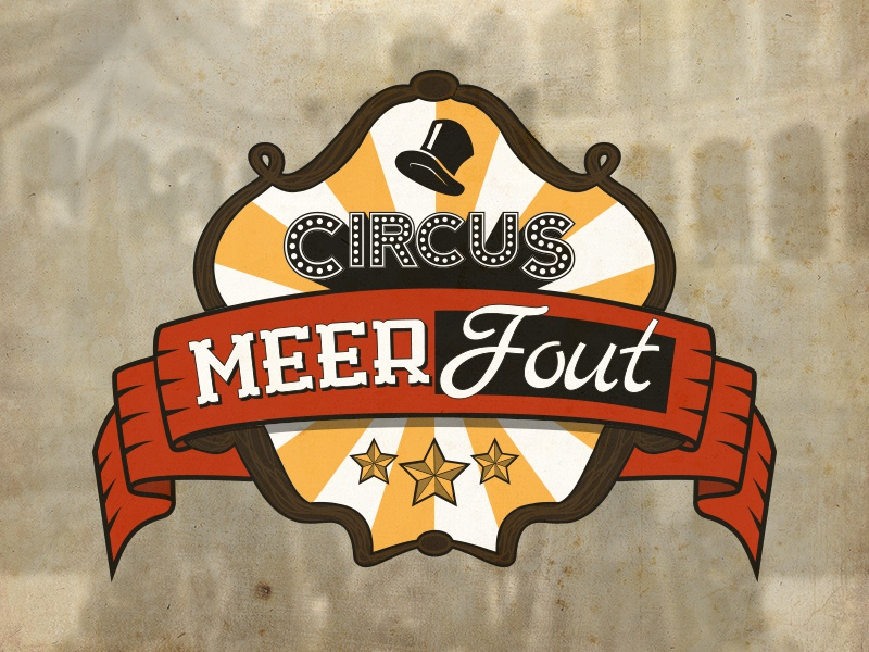 Meerfout meerfout logo circus