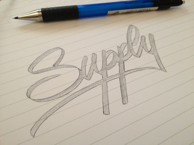 Supply lettering calligraphy writing hand writing paper pencil pratice