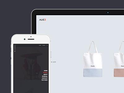 Alice - Agency & Freelance Portfolio Theme  page builder colorize grid masonry elegant wordpress retina freelancer agencies creative responsive css3
