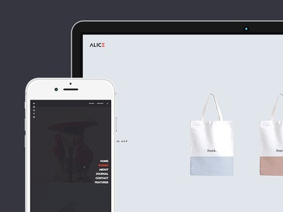 Alice - Agency & Freelance Portfolio Theme