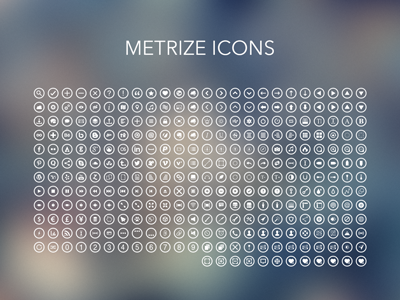 Metrize Icons [WIP-3]