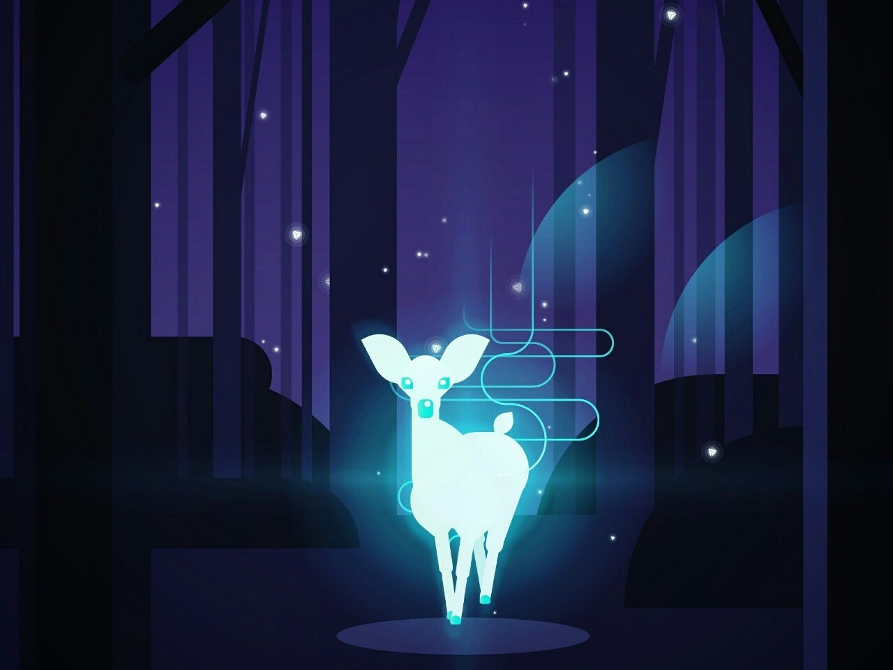 The Patronus Charm By Neil On Dribbble