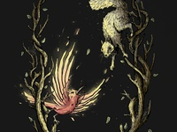 Mother Phoenix - Digital Painting