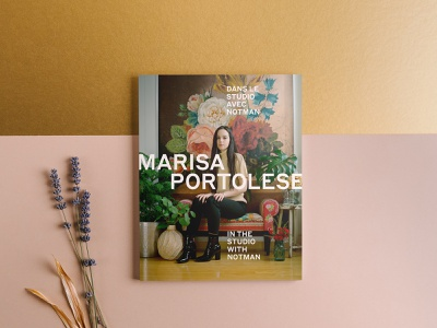 Marisa Portolese - In the Studio with Notman publication book