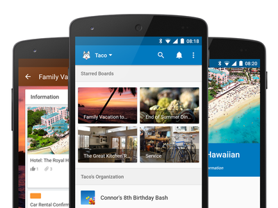 Trello for Android –Materialzed trello android material lollipop