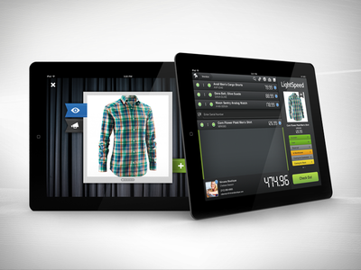 LightSpeed for iPad ui user interface ipad ios retail