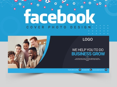 Facebook Cover Design logo facebook post design illustration cover artwork cover art facebook cover cover design facebook banner ads banner design abastact banner template