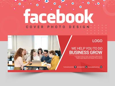 Facebook Cover Design ux cover design instagram banner branding abstract logo banner set illustration banner ads banner design abastact banner template