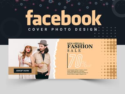 Fashion Facebook Cover Design fashion design fashion illustration fashion cover design facebook cover facebook post design banner ads abstract logo banner design banner template illustration