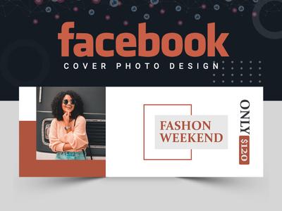 Fashion Facebook Cover Design abastact ux ui facebook cover banner set abstract logo branding banner design illustration banner template