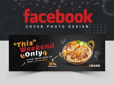 Food and Restaurant Facebook Cover