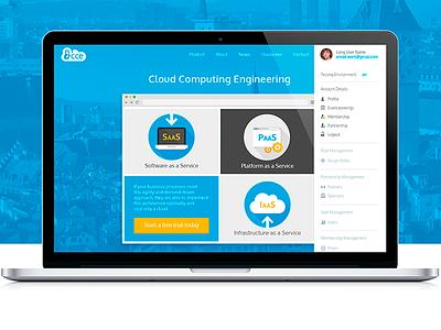Redesign CCE website company site cloud ui redesign