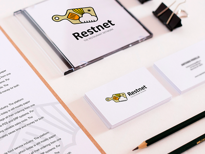 Restaurant network logo ideas  print brand design design restaurant logo